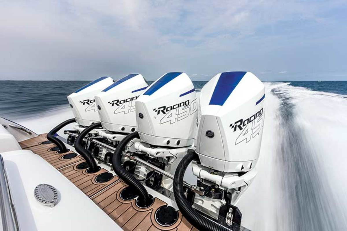 """The torque makes this 22,000-pound boat feel like a smaller boat with punch.""  - Trond Schou, founder, Nor-Tech boats"