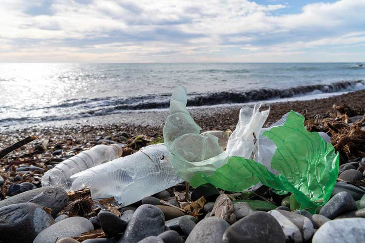 By 2025, the 4.7 million to 12.5 million metric tons of plastic entering the oceans each year is expected to double.