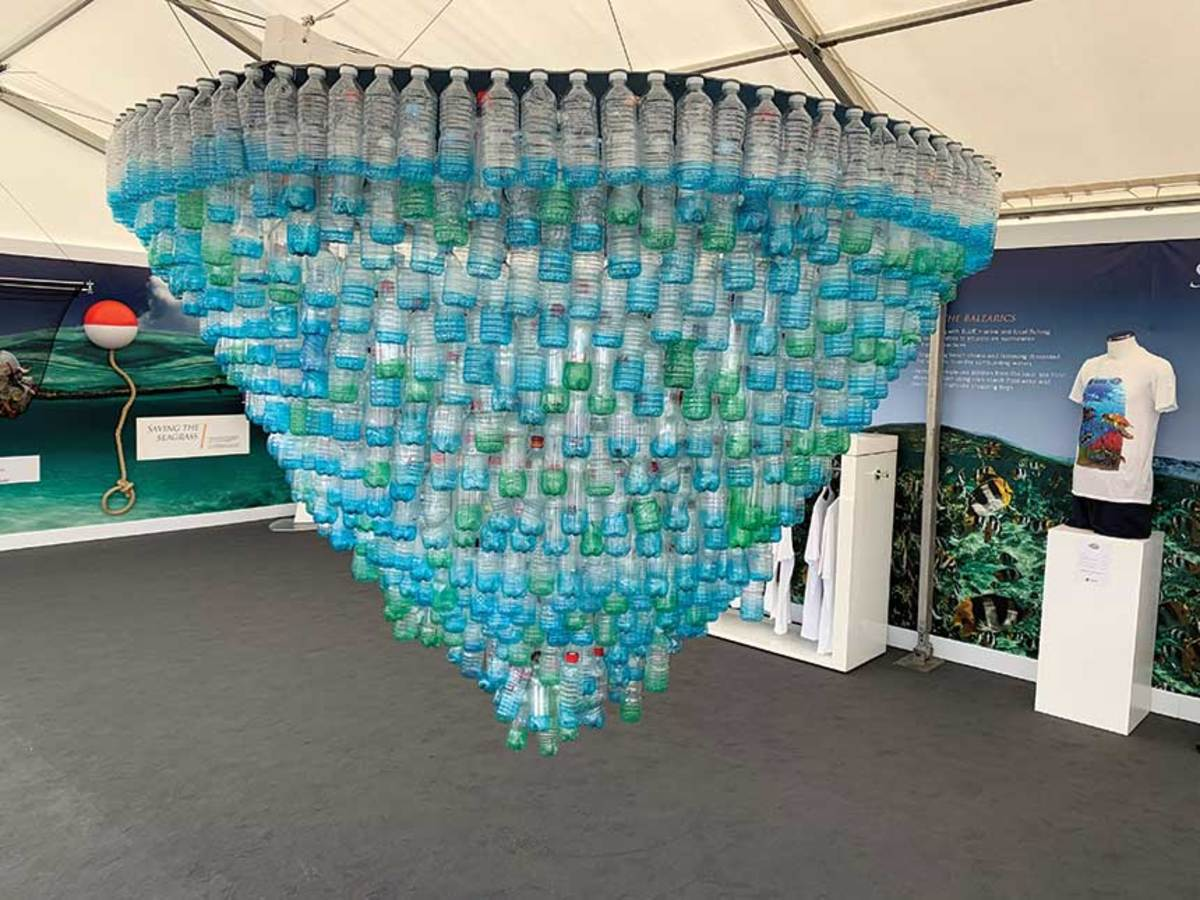 Sunseeker and the Blue Marine Foundation demonstrated the importance of protecting the marine environment with a sustainability exhibition at the Southampton Boat Show last year.