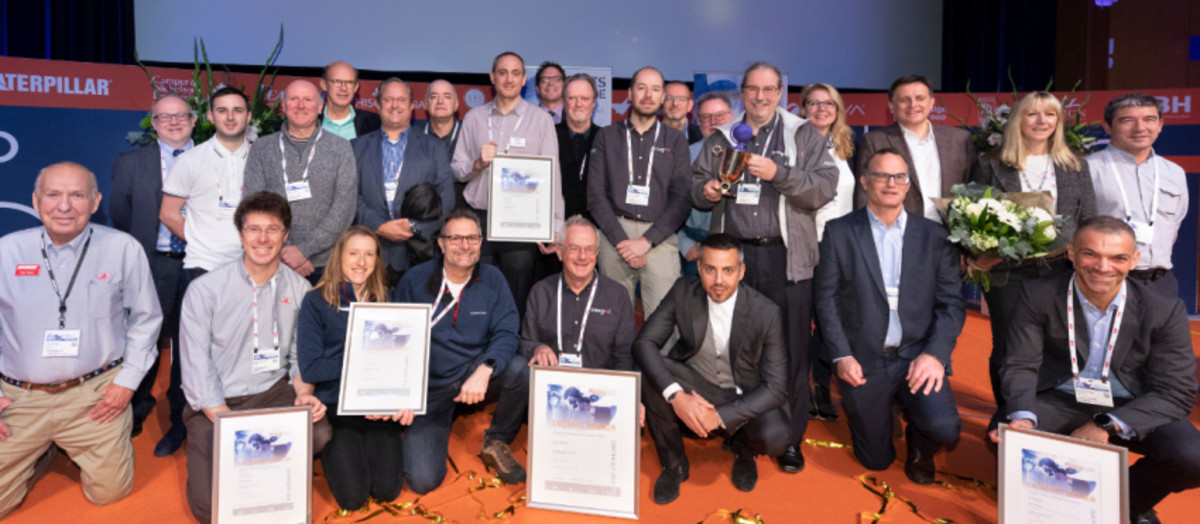 Last year's winners of the Metstrade DAME awards.