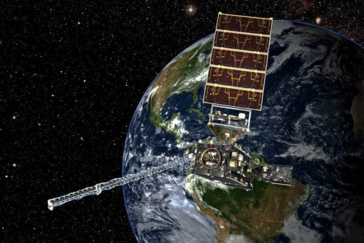 The GOES satellite is the heart of the upgraded U.S. model, offering  higher-resolution imagery.