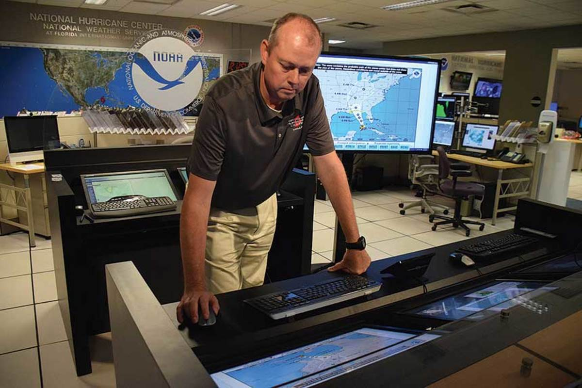Ken Graham, director of the National Hurricane Center, says more accurate water temperature and wind measurements will improve storm forecasting.