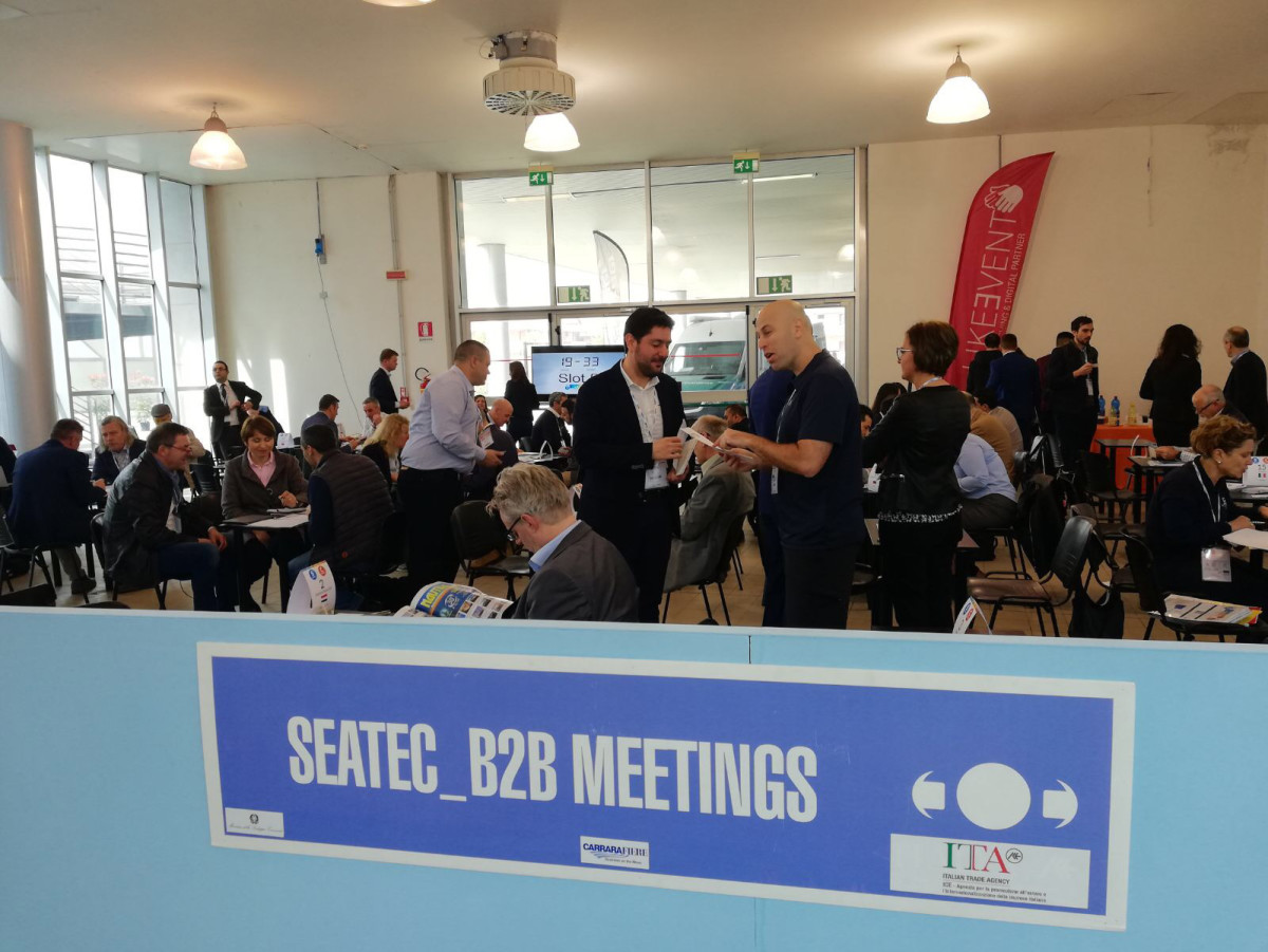 Seatec has expanded its B2B meetings for builders and suppliers.