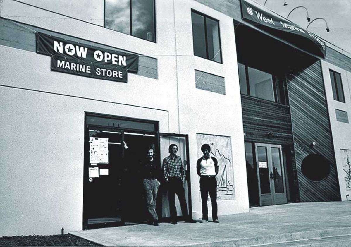 West Coast Ropes operated out of Repass' garage and eventually became West Marine as stores like the Santa Cruz location opened in 1982.