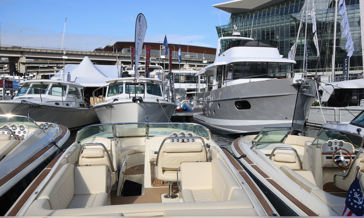 Australia's largest boat show attracts about 60,000 attendees.