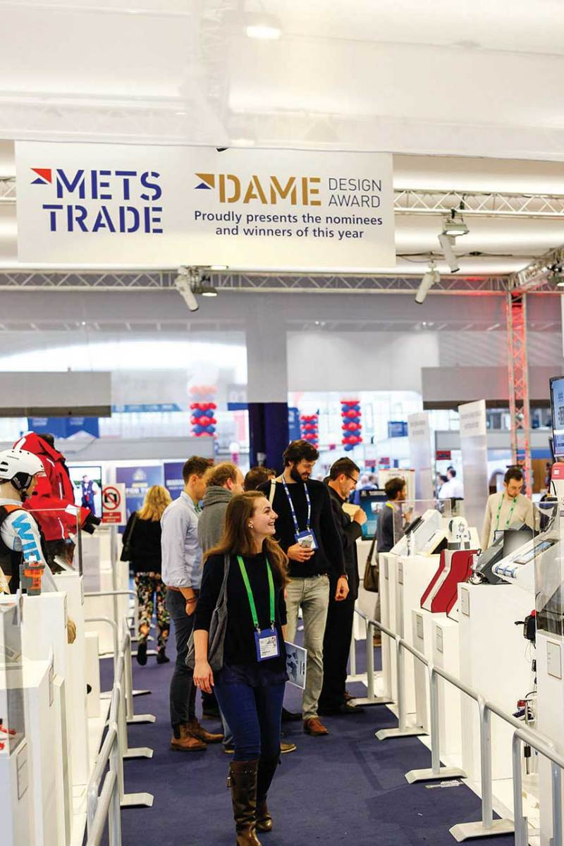 New green technologies and innovations are on display in the Dame Awards section.