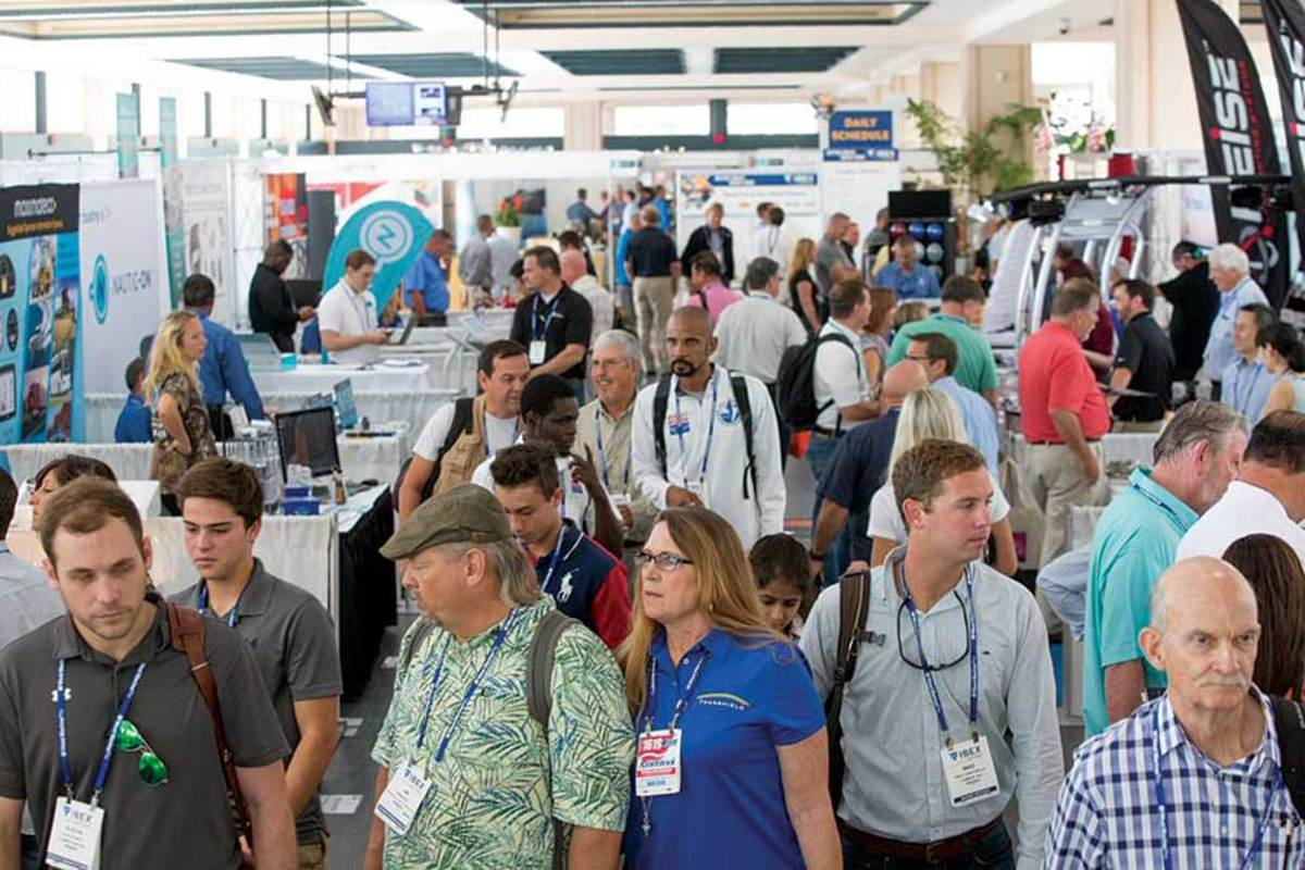 Last year's IBEX had 23 percent more visitors than the previous year.  Organizers hope for an attendance bump this year.