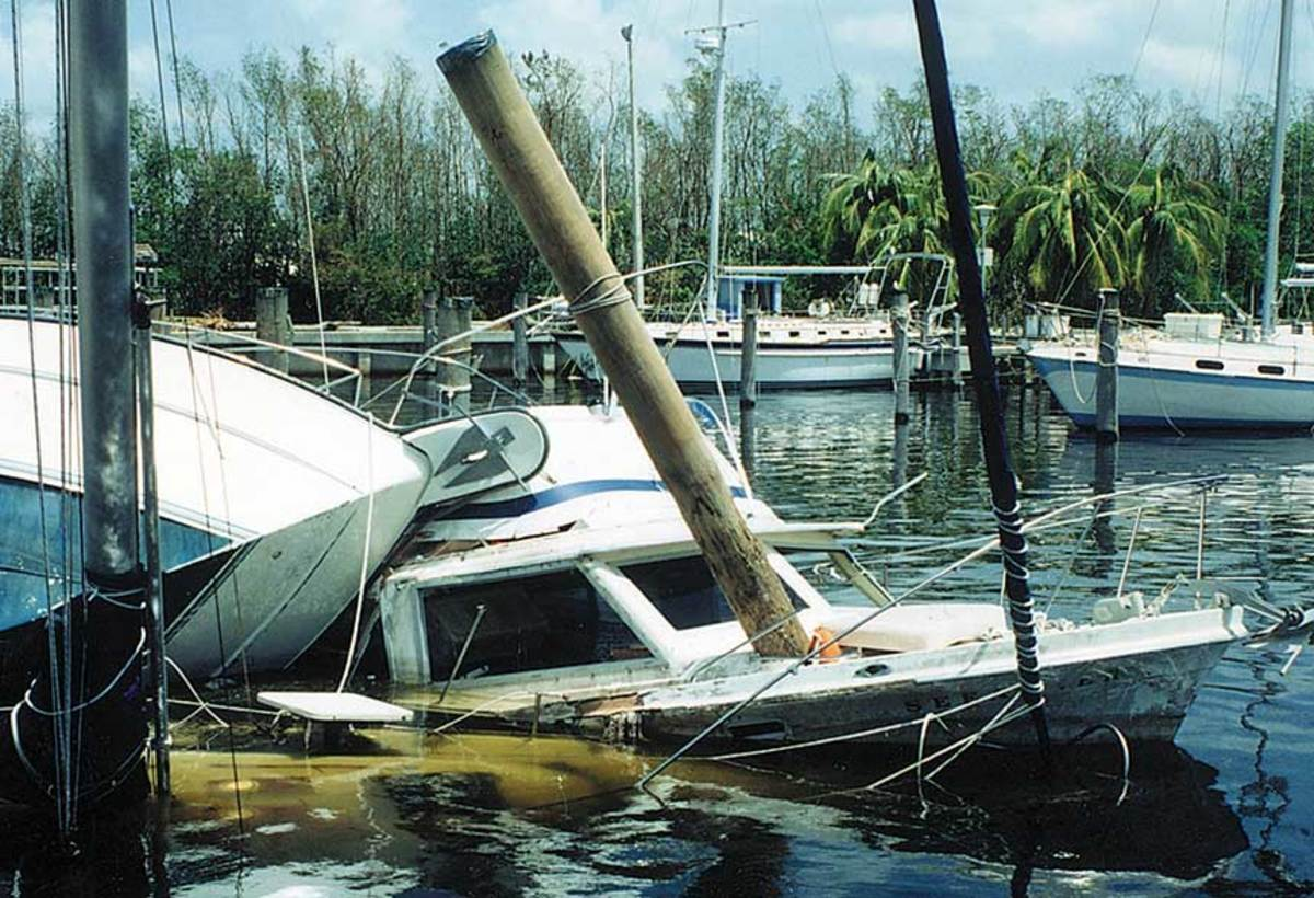 Some marinas manage the risks of flooding without carrying insurance.