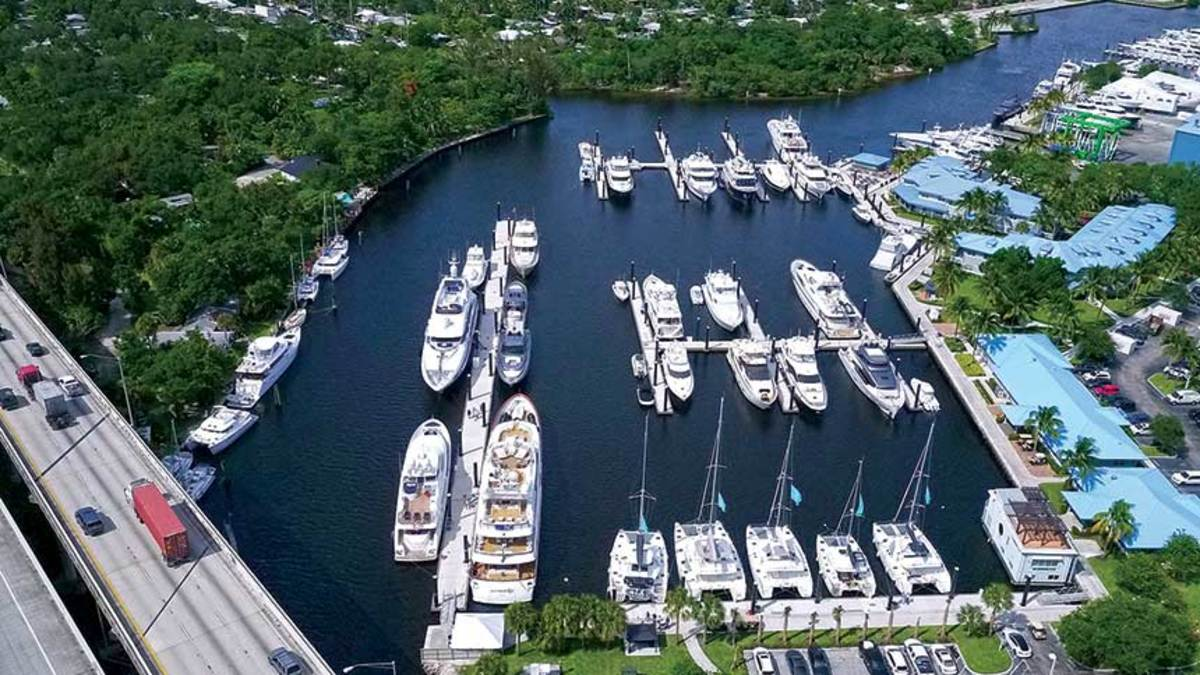 Since 2015, Lauderdale Marine Center has invested $20 million in infrastructure and other improvements as  it increases its focus on yachts over 100 feet.