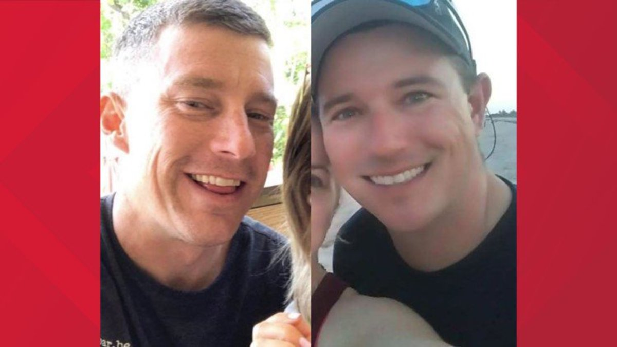 The two firefighters were last seen at a boat ramp on August 16.