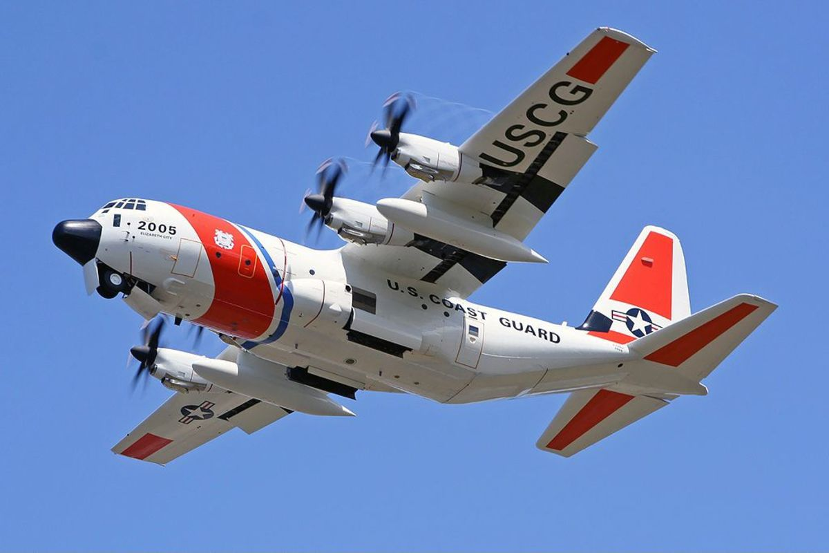 The Coast Guard has added aircraft, including a C130 to the search.