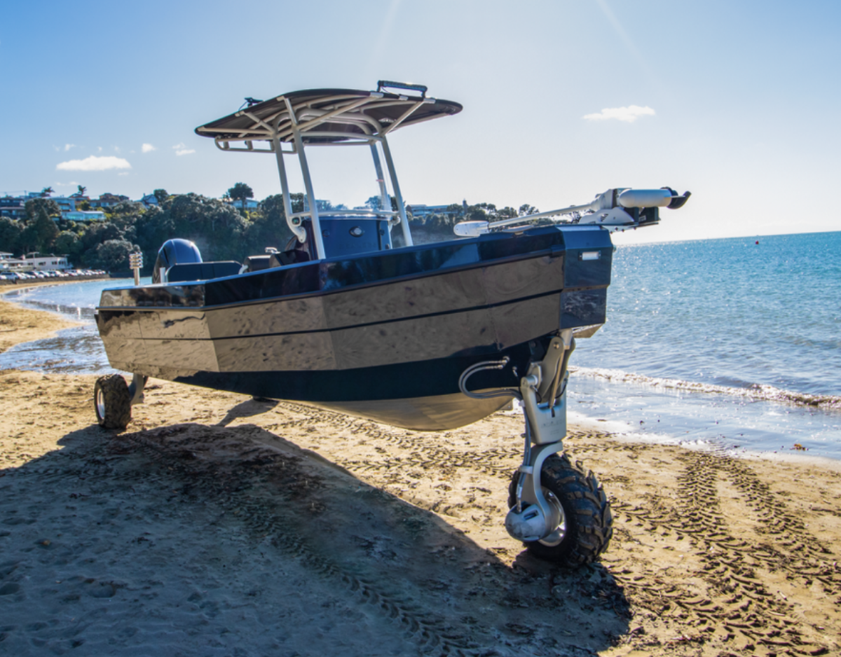 Sealegs amphibious boat