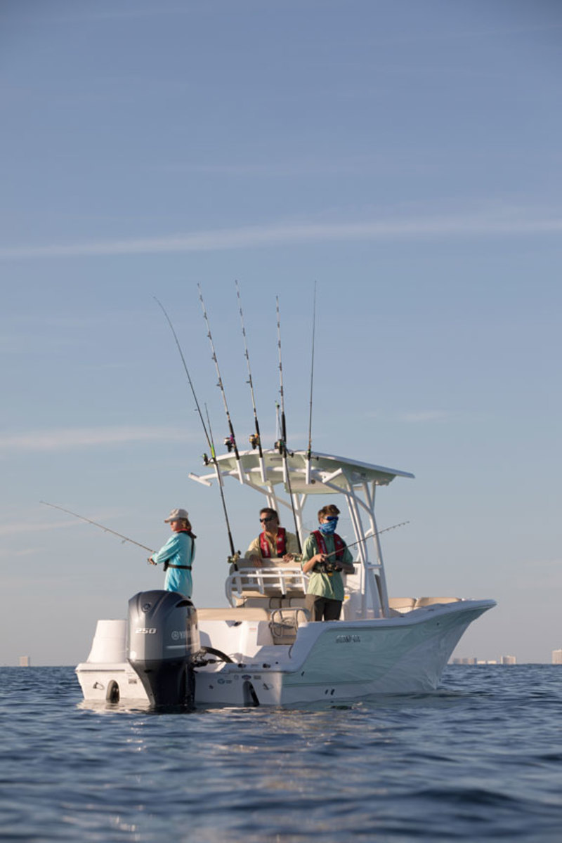 Sales of new saltwater fishing boats were up 6 percent in the second quarter.