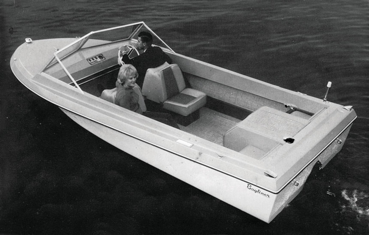 Bayliner's Coronet 19 was one of its most popular models.