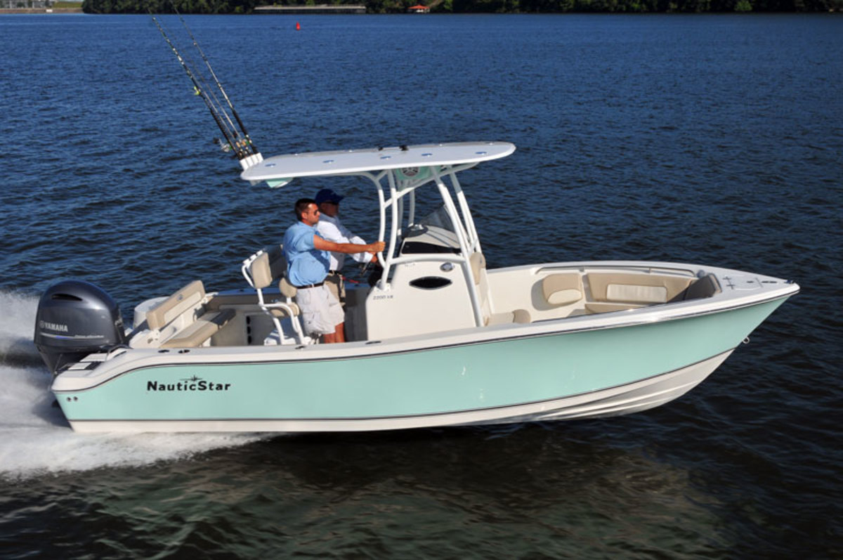 NauticStar builds fishing, deck and hybrid boats.