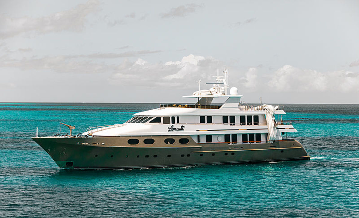 The owner of the 155-foot yacht Loon provided the vessel as a base of operations for a week after Dorian hit the Bahamas.