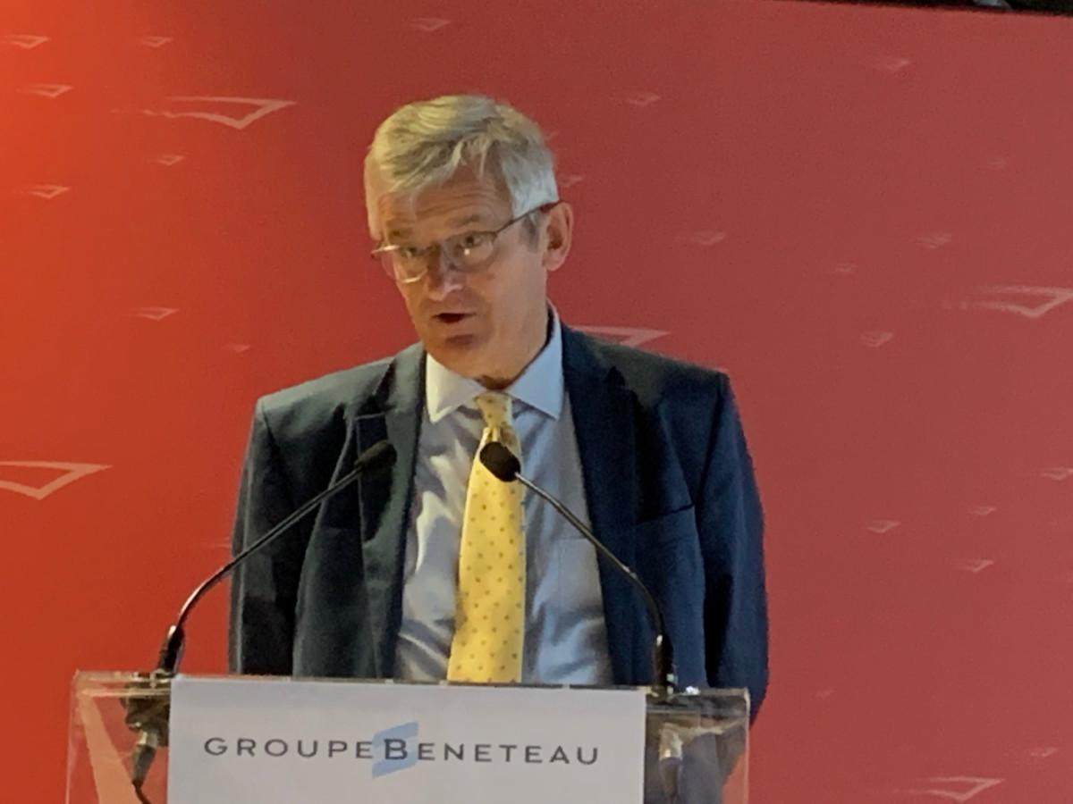 CEO Jerome de Metz