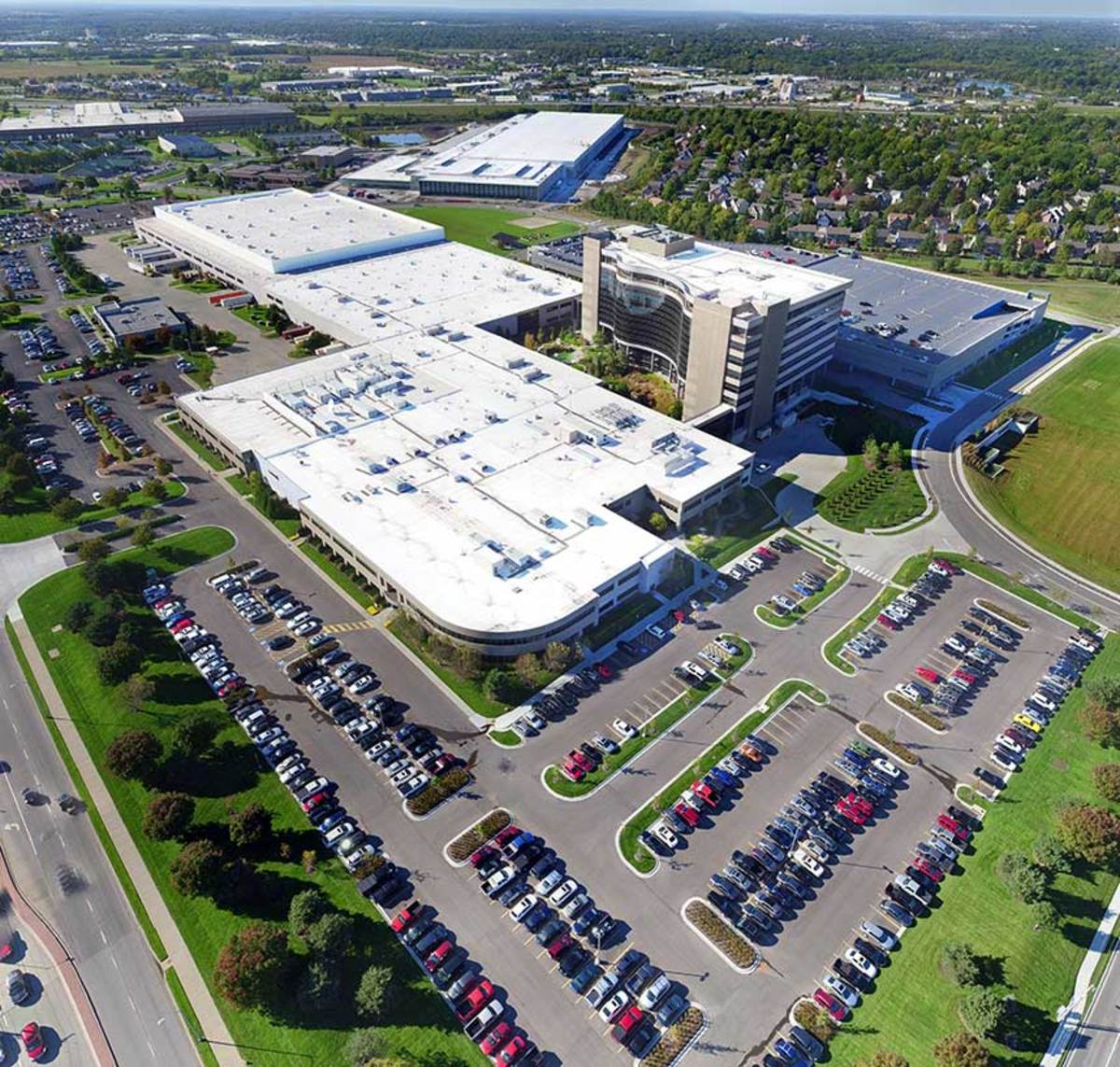 With eight global production facilities, Garmin's home is still Olathe, Kan. It recently completed a $200 million expansion for distribution and manufacturing.