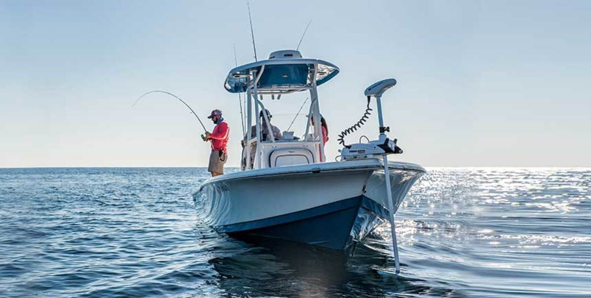 Minn Kota is dominating the fast-growing saltwater trolling market by offering longer shaft lengths.