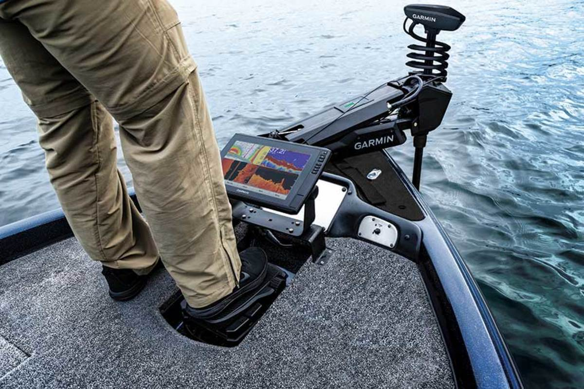 Garmin entered the freshwater segment first because most bass boats have trolling motors. It also sees a saltwater demand.