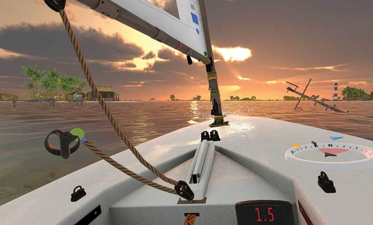 No fear factor: MarineVerse lets newbies learn how to sail before stepping on a boat.