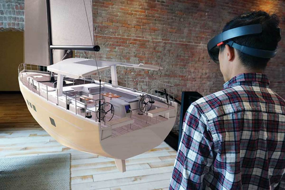 "Augmented Reality lets designers ""see"" new models in 3-D before they go into production."