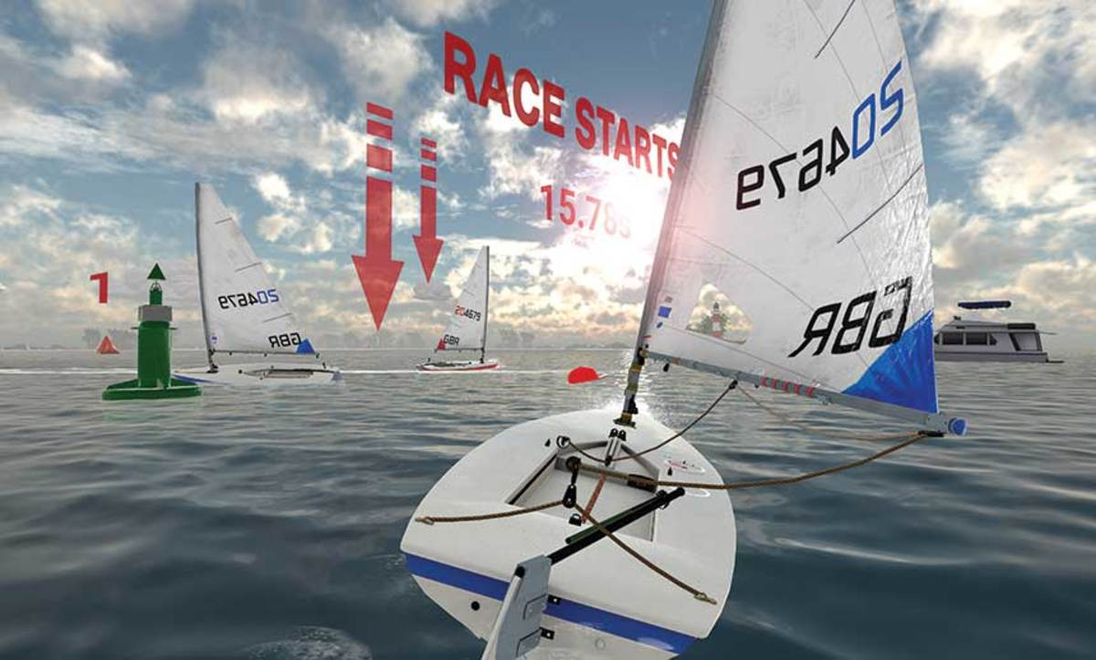 MarineVerse's VR Regatta can be used by racing sailors to train during the off-season, while coaches can monitor students from a distance.