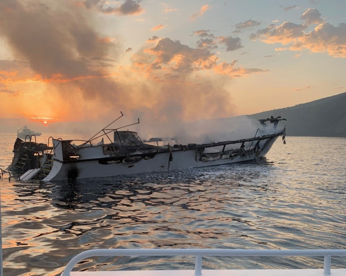 Did over-stressing the boat's electrical system cause the fire on Conception?