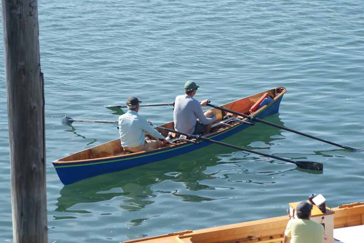 The Small Craft celebration was a way for builders and enthusiasts to enjoy the waterfront.
