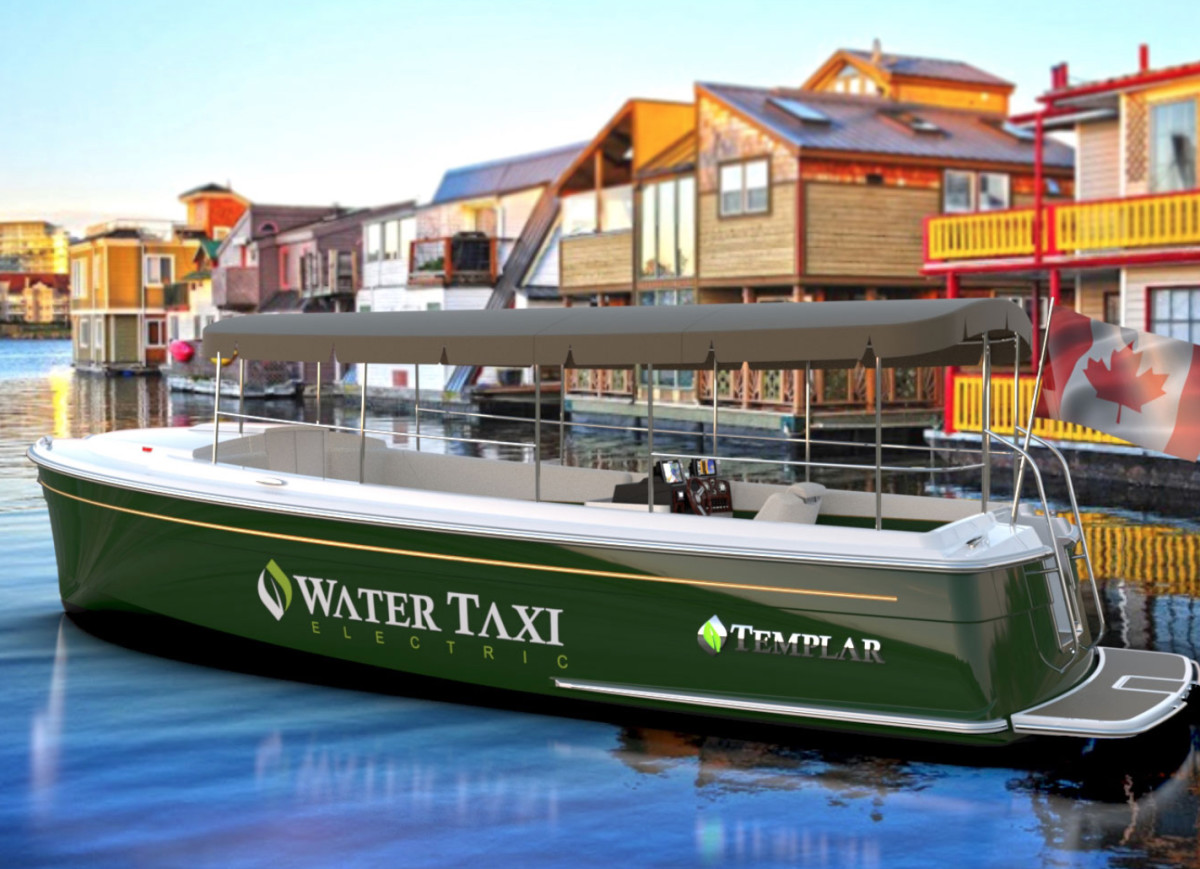 A sightseeing company in Canada recently ordered 12 water taxis.