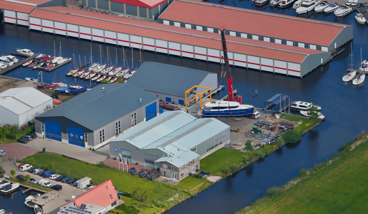 The Jetten yard has built about 350 boats since 1997.