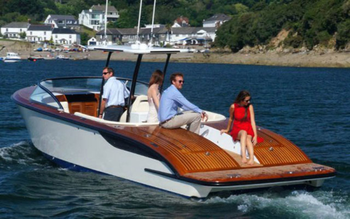 Cockwells is a British builder of high-end runabouts.