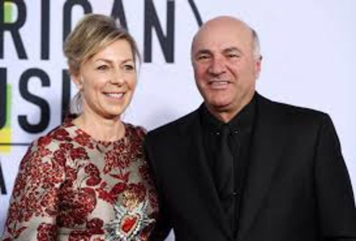 Linda and Kevin O'Leary. Photo courtesy The Star