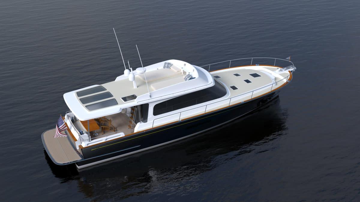The Hylas 58 motoryacht
