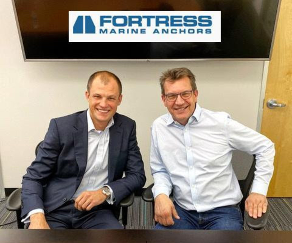 Dylan Hallerberg (left), grandson of Fortress Anchors founder Don Hallerberg, becomes the third generation of the Hallerberg family at the helm.