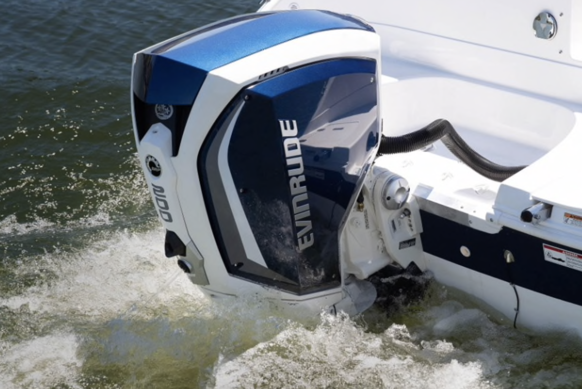 "Evinrude is working on a new-product ""narrative"" to gain market share against 4-stroke competitors."