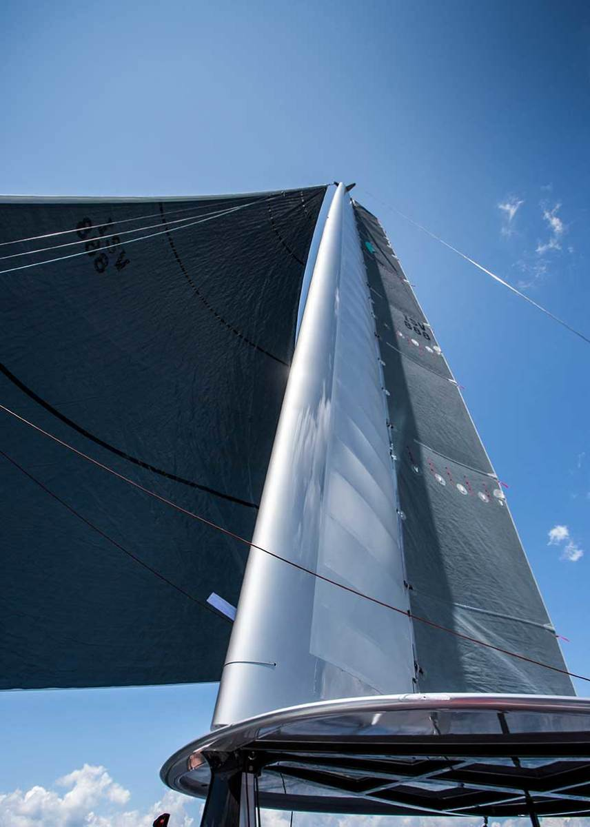 North Sails was able to use sailcloth developed for Alinghi 's 2007 campaign in production boats.