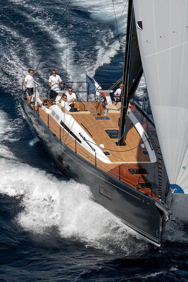 As the global leader in unit sales, Groupe Beneteau continues to innovate across  its diverse sail­­- boat lines.