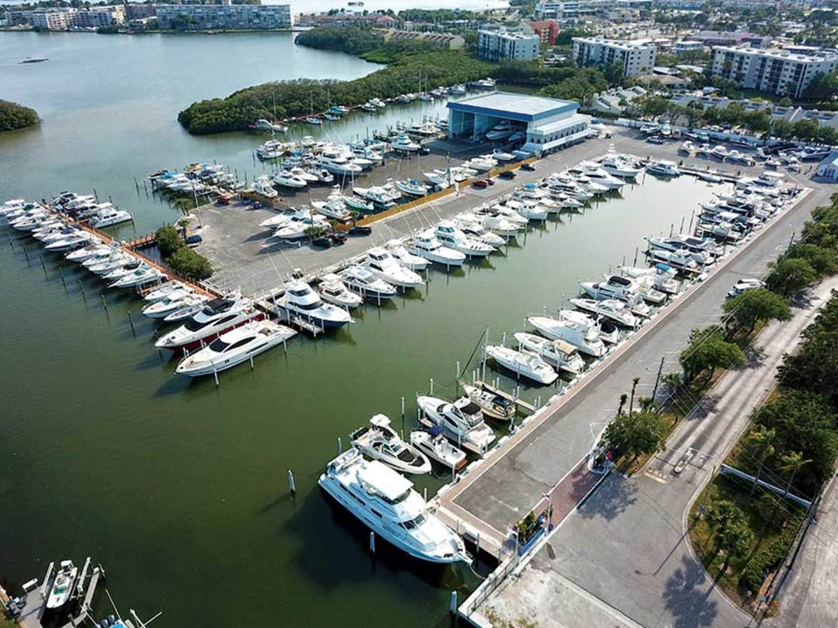 MarineMax's continued  growth comes through marina and dealership acquisitions.