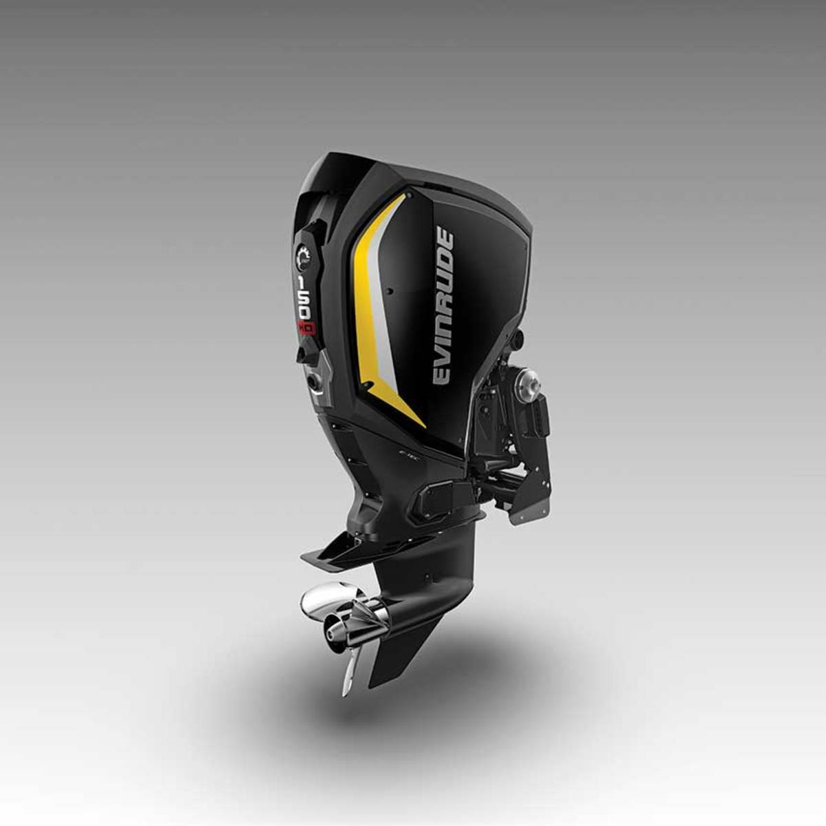 Evinrude's new 3-cylinder outboards feature many of the high-tech systems of larger engines.