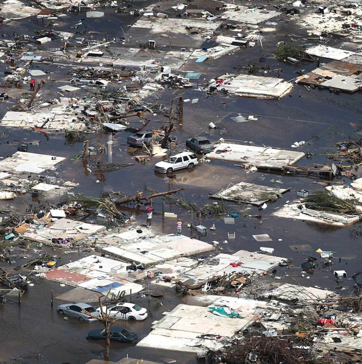 Marsh Harbour, Abaco, was one of the hardest-hit areas in the Bahamas. Dorian left 1.5 billion pounds of debris behind.  Little has changed since the hurricane.