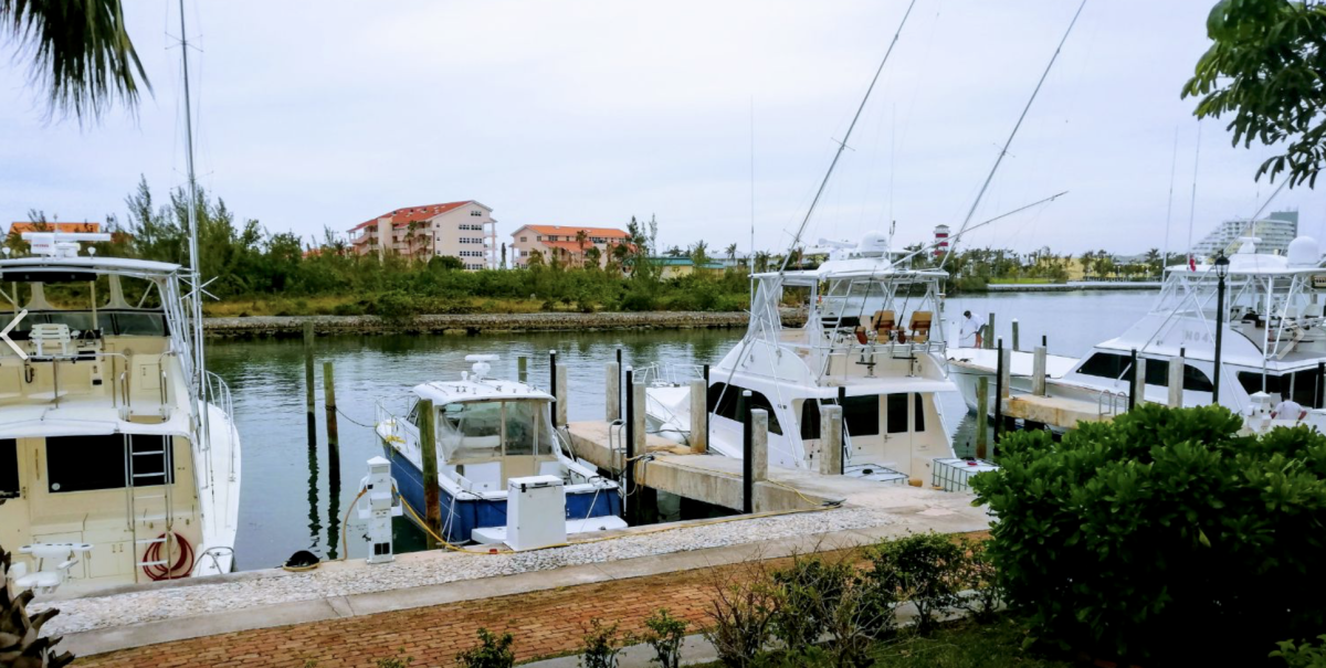 Damaged during Hurricane Dorian, the Grand Bahama Yacht Club is back in business.