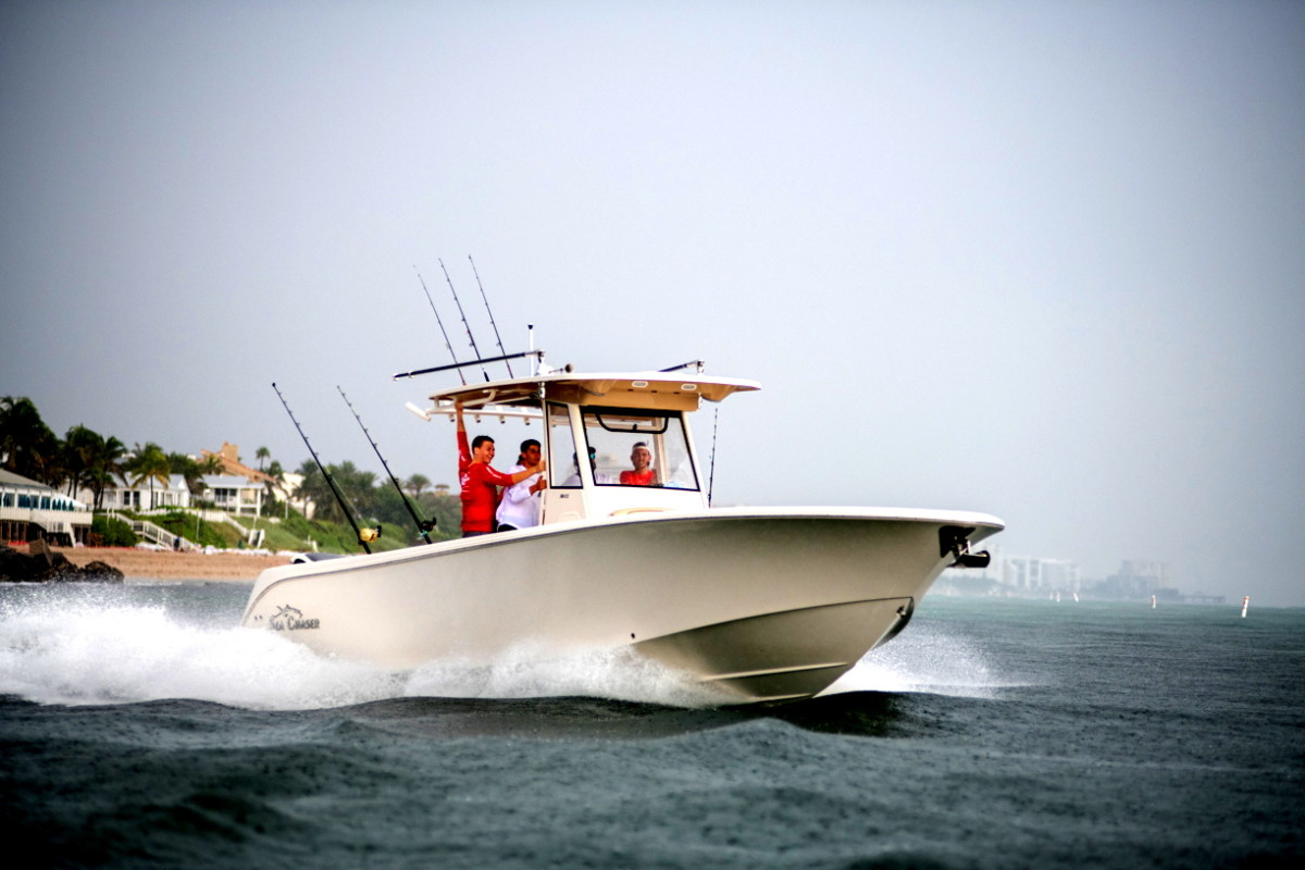 Sea Chaser's 35 HFC Bluewater Series will debut at the Fort Lauderdale International Boat Show.