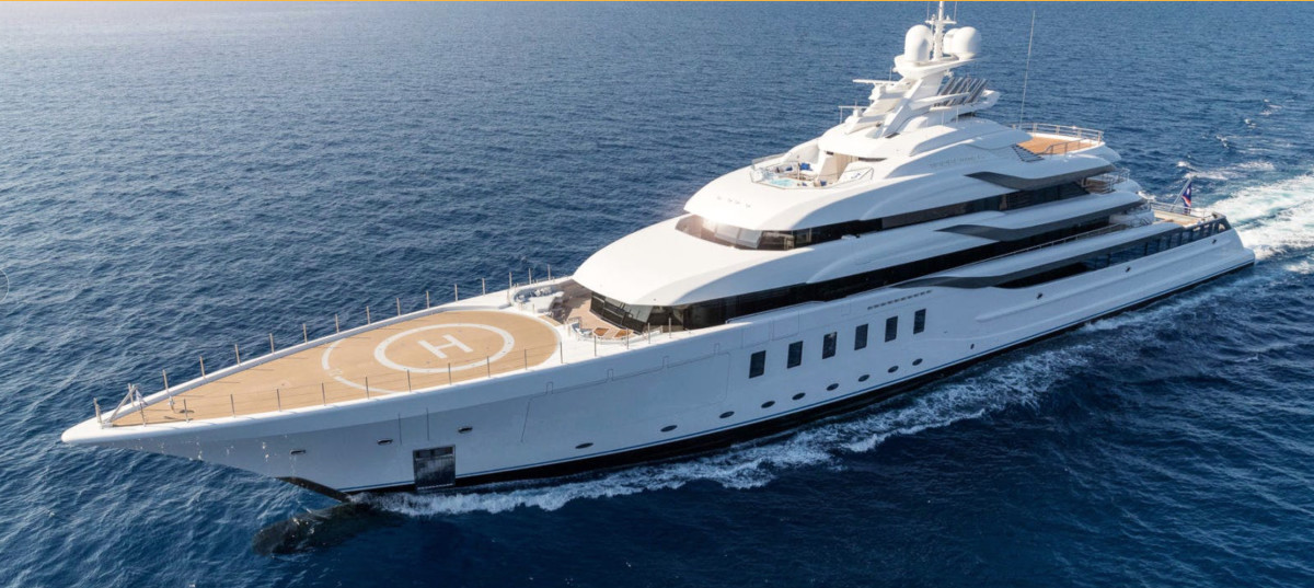 Lürssen will debut its largest yacht to date, Madsummer.