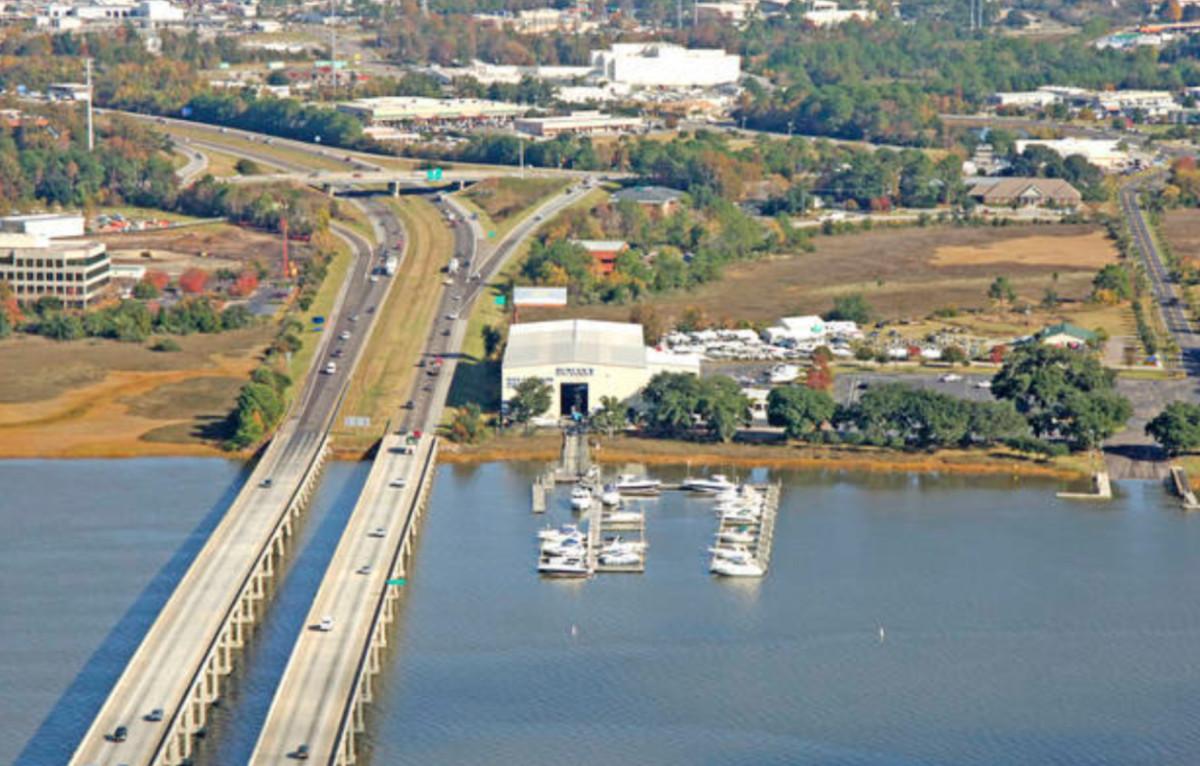 Rivers Edge Marina in North Charleston, S.C.