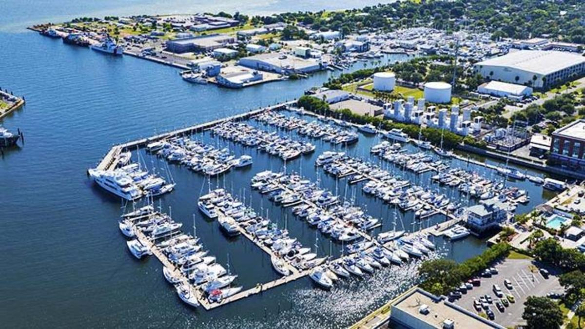 Harborage Marina in St. Petersburg is a Safe Harbor Property.