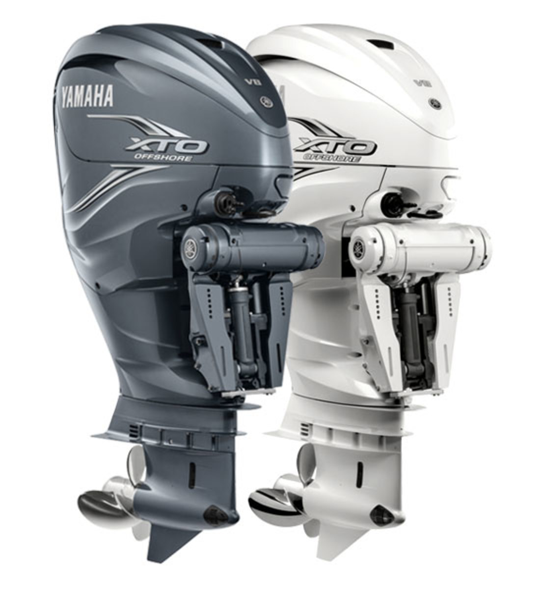 The 425-hp XTO Offshore is Yamaha's largest outboard.