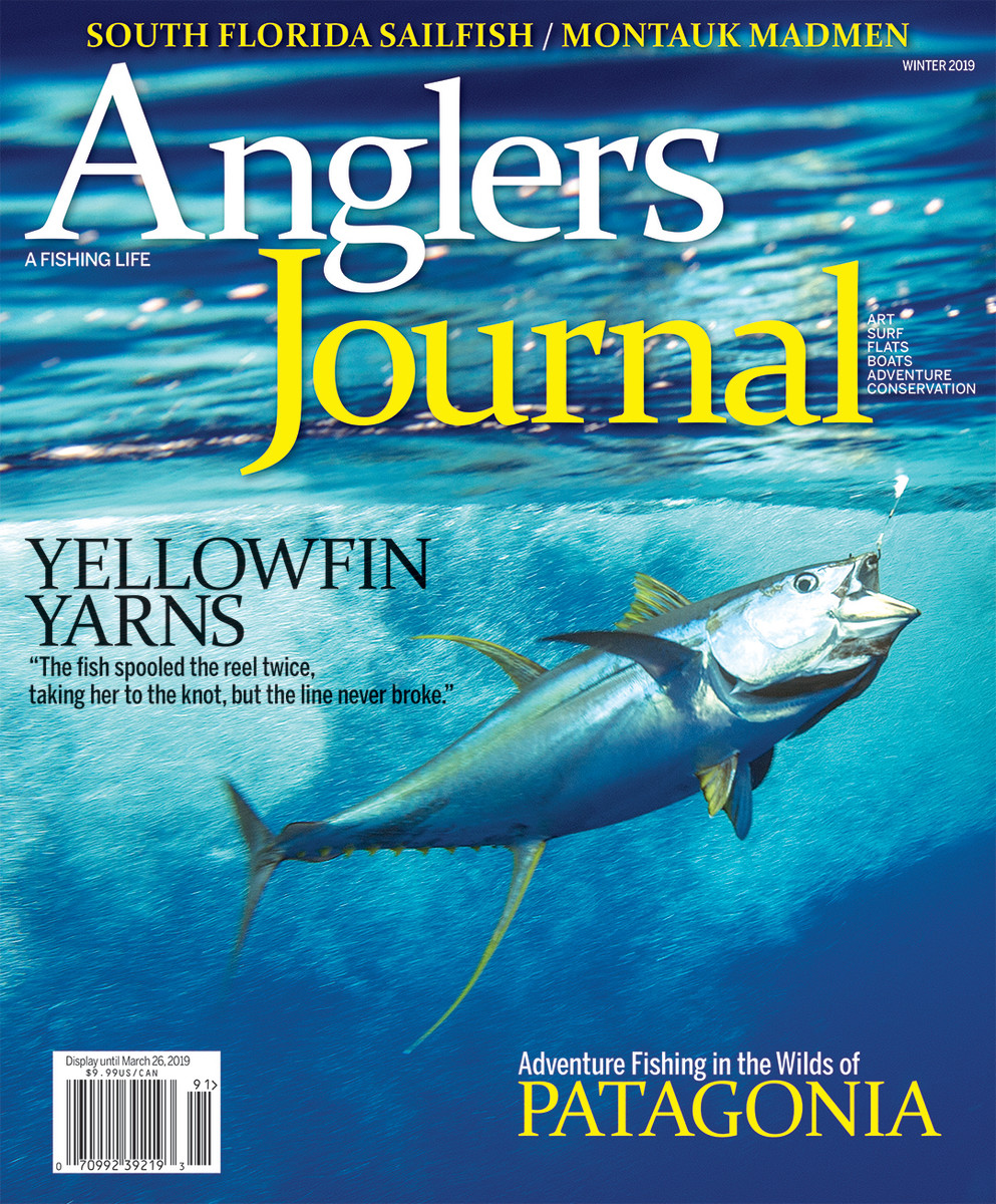 The Winter 2019 issue of Anglers Journal won an Eddie award for best full issue.