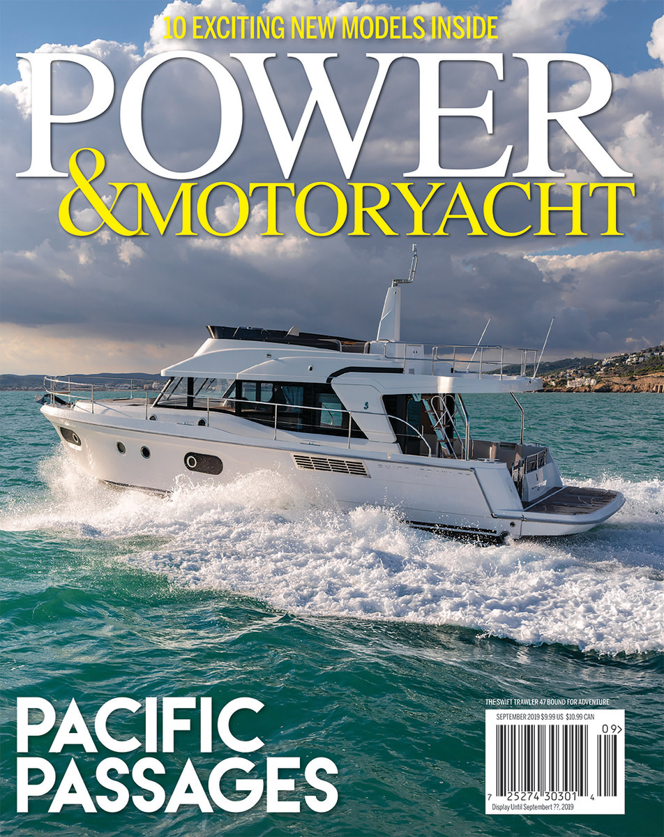 The September issue of Power & Motoryacht received an honorable mention in the enthusiast/hobby category.