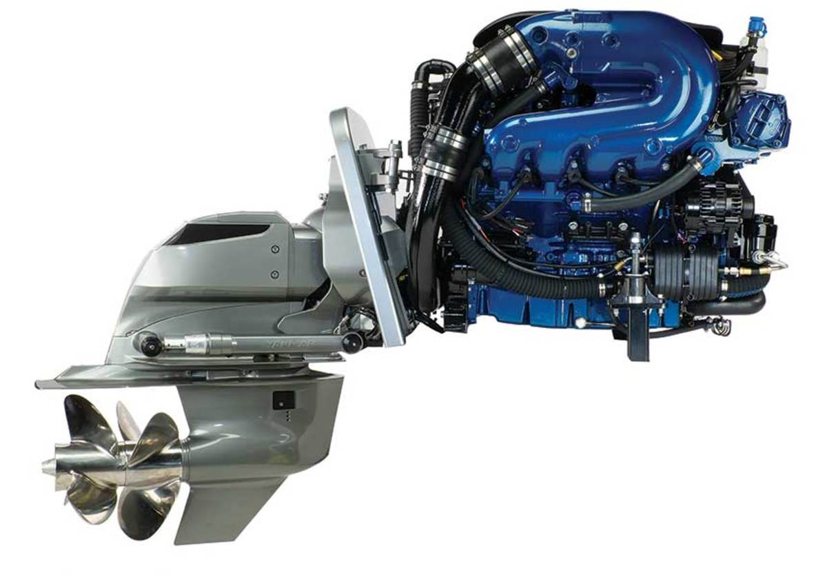 Ilmor' s One Drive sterndrive is the result of a collaboration with Yanmar.
